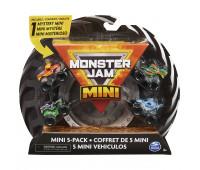Набор машинок Monster Jam мини 5шт 6061232