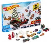 Адвент календарь Hot Wheels