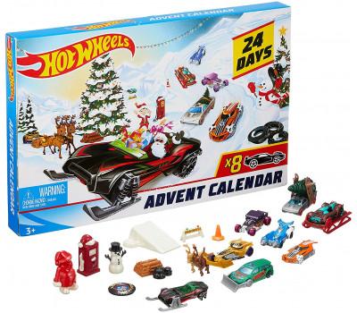 Адвент календарь Hot Wheels Mattel FYN46