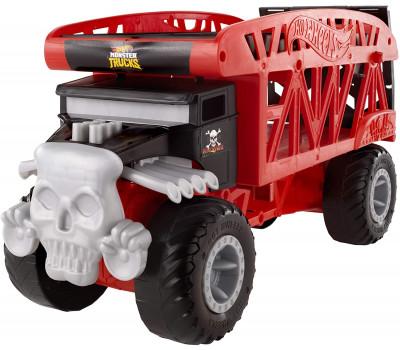 Hot Wheels Monster Trucks Тягач-перевозчик FYK13