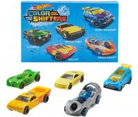Набор из 5 машинок Hot Wheels Color Shifters (меняет цвет)