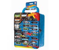 Кейс Hot Wheels для хранения 18машин портативный Голубой HWCC2
