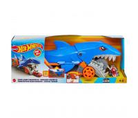 Грузовик Hot Wheels Голодная акула с хранилищем для машинок GVG36