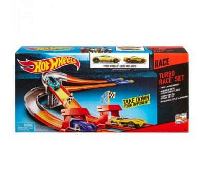 Трек трасс 3-в-1 Турбо гонка Hot Wheels