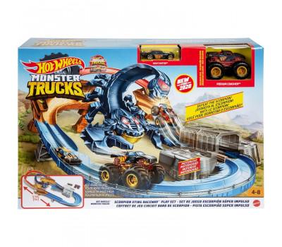Набор игровой Hot Wheels Монстр-трак Гонка со скорпионом GNB05