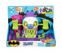 Набор Игровой Hot Wheels Сити Бэтмен Веселый дом Джокера GBW51