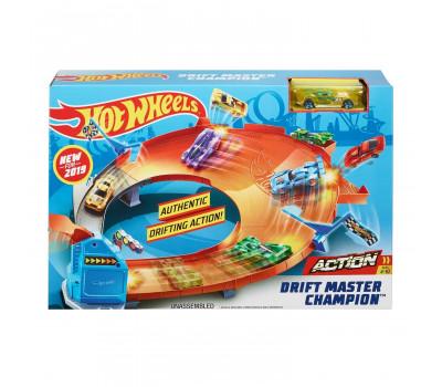 Набор Игровой Hot Wheels Чемпион Мастер дрифта GBF84