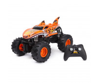 Машина Hot Wheels РУ 1:15 Monster Truck Tiger Shark Оранжевый 61550U