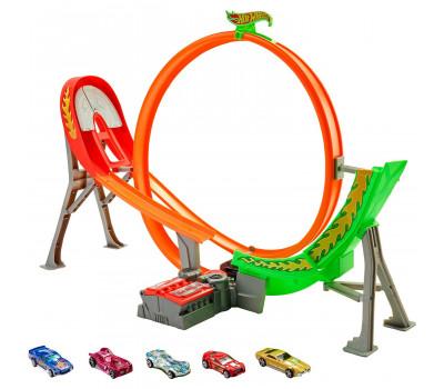 Набор игровой Hot Wheels Автотрек Экшн Безумный форсаж FCF18