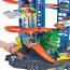 Набор игровой Hot Wheels Сити Невообразимый гараж с тиранозавром GJL14
