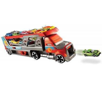 Автовоз City Blastin Rig на 14 машин (с пусковой установкой) + 3 машинки