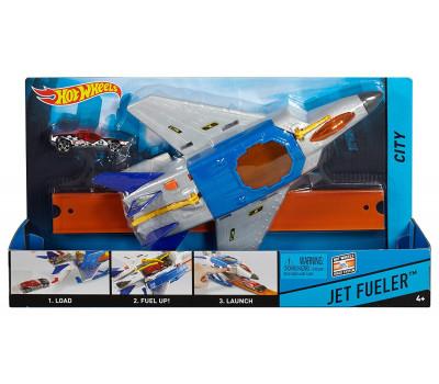 Самолет-заправщик Hot Wheels City Jet Fueler Aircraft FDW71