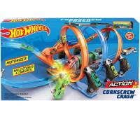 Игровой набор Hot Wheels Винтовое столкновение