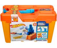 Набор Строительная коробка для трюков Hot Wheels Track Builder Barrel Box
