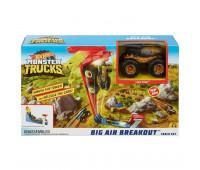 Игровой набор Monster Trucks Биг Эйр Брейкаут Hot Wheels